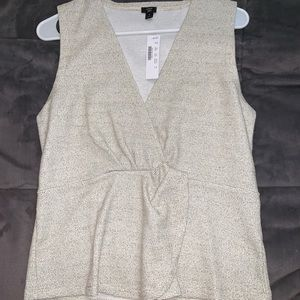 J crew blouse. NWT. Size small